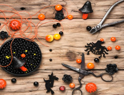 Accessorize Your Halloween Costume With Special Beads